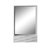 DECOLAV 32-in H x 20-in W Sophia Collection High Gloss White Rectangular Bathroom Mirror