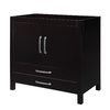 DECOLAV Cameron Modular Espresso Contemporary Bathroom Vanity (Common: 36-in x 22-in; Actual: 36-in x 21-in)
