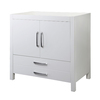 DECOLAV Cameron Modular White Contemporary Bathroom Vanity (Common: 36-in x 22-in; Actual: 36-in x 21-in)