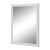 DECOLAV Cameron 24-in W x 32-in H White Rectangular Bathroom Mirror