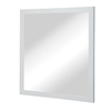 DECOLAV Cameron 30-in W x 32-in H White Rectangular Bathroom Mirror