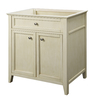 DECOLAV Jordan Modular Antique White Contemporary Bathroom Vanity (Common: 30-in x 22-in; Actual: 30.75-in x 21.88-in)