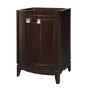 DECOLAV Gavin Espresso Contemporary Bathroom Vanity (Common: 24-in x 22-in; Actual: 24-in x 21.5-in)