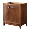DECOLAV Gavin Medium Walnut Contemporary Bathroom Vanity (Common: 30-in x 22-in; Actual: 30-in x 21.5-in)