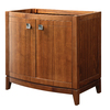 DECOLAV Gavin Medium Walnut Contemporary Bathroom Vanity (Common: 36-in x 22-in; Actual: 36-in x 21.5-in)