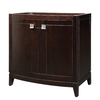 DECOLAV Gavin Espresso Contemporary Bathroom Vanity (Common: 36-in x 22-in; Actual: 36-in x 21.5-in)