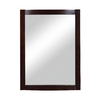 DECOLAV 32-in H x 24-in W Gavin Collection Espresso Rectangular Bathroom Mirror