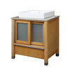 DECOLAV Tyson Maple Vessel Single Sink Birch Bathroom Vanity with Granite Top (Common: 31-in x 22-in; Actual: 31-in x 22-in)