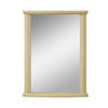 DECOLAV 32-in H x 24-in W Olivia Collection Antique White Rectangular Bathroom Mirror