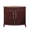 DECOLAV Alexandra Dark Walnut Transitional Bathroom Vanity (Common: 40-in x 22-in; Actual: 38-in x 21.5-in)