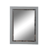 DECOLAV 32-in H x 24-in W Briana Collection Slate Rectangular Bathroom Mirror