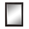 DECOLAV 32-in H x 24-in W Briana Collection Black Rectangular Bathroom Mirror