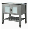 DECOLAV Briana Slate Contemporary Bathroom Vanity (Common: 30-in x 22-in; Actual: 30.5-in x 21.75-in)