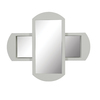 DECOLAV 30-in H x 36-in W Gabrielle Collection White Rectangular Bathroom Mirror