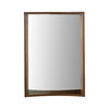 DECOLAV 31-in H x 22-in W Madryn Collection Dark Walnut Rectangular Bathroom Mirror