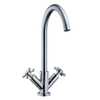 Danze Parma Polished Chrome 2-Handle High-Arc Kitchen Faucet