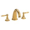 Danze Colonial Crest PVD Brass 2-Handle Adjustable Deck Mount Tub Faucet