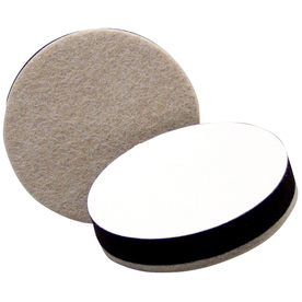 Waxman 2-1/2-in Round Adhesive-Backed Hard Surface Slider