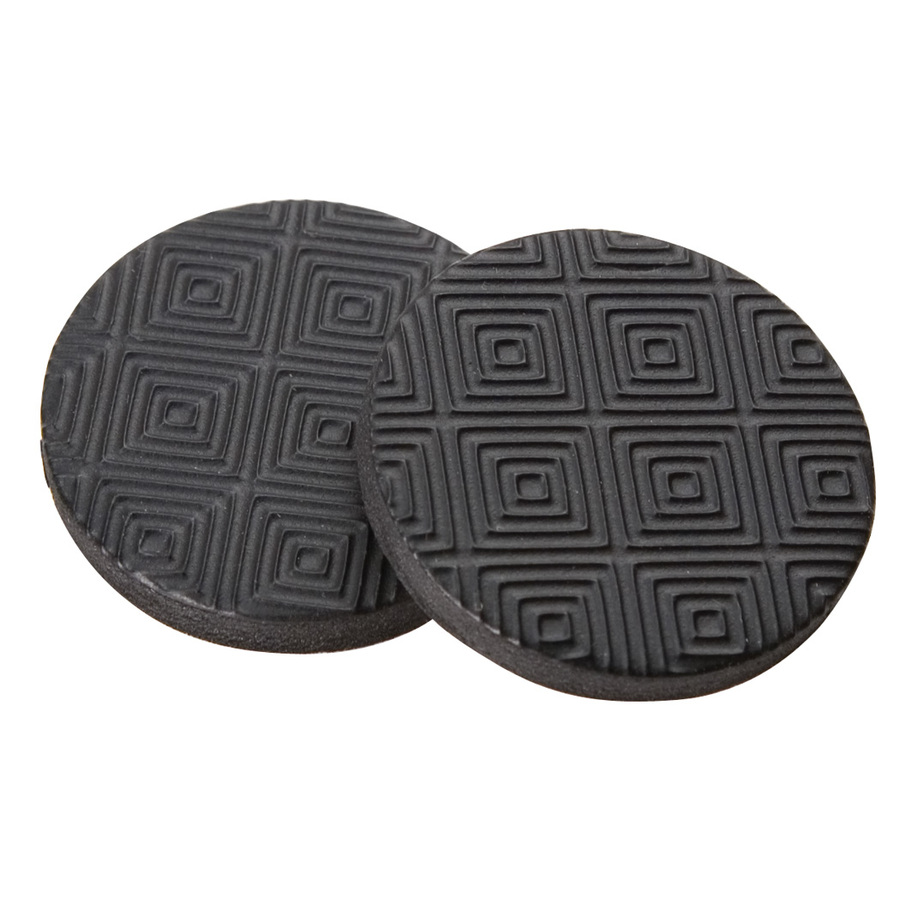 Shop Softtouch 16 Pack 1 In Round Rubber Gripper Pads At