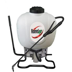 Roundup 4-Gallon Plastic Tank Sprayer with Shoulder Strap