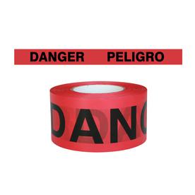 Presco 3-in x 1000-ft Red Flagging Tape