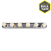 Project Source 6-Light Chrome Bathroom Vanity Light