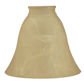 5-7/8-in Amber Alabaster Vanity Light Glass