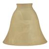 Amber Alabaster Lamp