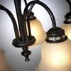 Project Source Fallsbrook 5-Light Dark Oil-Rubbed Bronze Chandelier