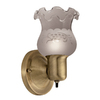 Portfolio 4.57-in W 1-Light Antique Brass Pocket Hardwired Wall Sconce