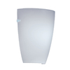 Portfolio 7.87-in W 1-Light White Pocket Hardwired Wall Sconce