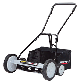 Task Force 20-in Reel Lawn Mower
