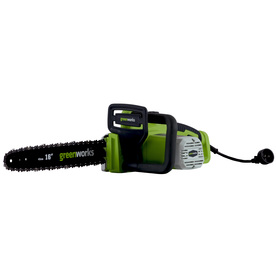 Greenworks 12-Amp 16-in Corded Electric Chain Saw