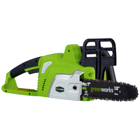 Greenworks 20-Volt Lithium Ion (Li-ion) 10-in Cordless Electric Chain Saw