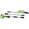 Greenworks 20-Volt 8-in Cordless Electric Pole Saws