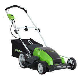 Greenworks 13-Amp 21-in Corded Electric Push Lawn Mower