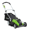 Greenworks 40-Volt 19-in Cordless Electric Push Lawn Mower with Mulching Capability