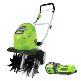 Greenworks 40-Volt 10-in Cordless Electric Cultivator