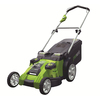 Greenworks 40-Volt 20-in Cordless Electric Push Lawn Mower with Mulching Capability