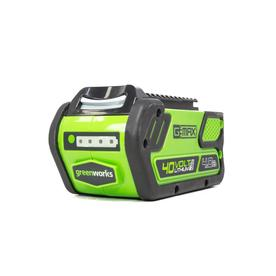Greenworks 40-Volt 4.0-Amps Rechargeable Lithium Ion (Li-Ion) Cordless Power Equipment Battery