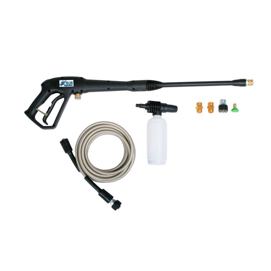 in blue hawk electric pressure washer replacement gun and hose kit