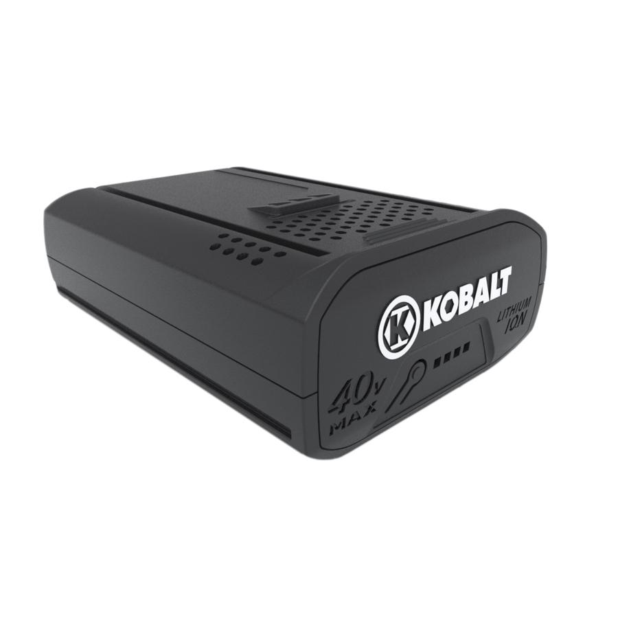kobalt 40 volt rechargeable lithium ion li ion power equipment battery ebay. Black Bedroom Furniture Sets. Home Design Ideas