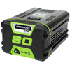 Greenworks 80-Volt Max 2.0-Amps Rechargeable Lithium Ion (Li-Ion) Cordless Power Equipment Battery