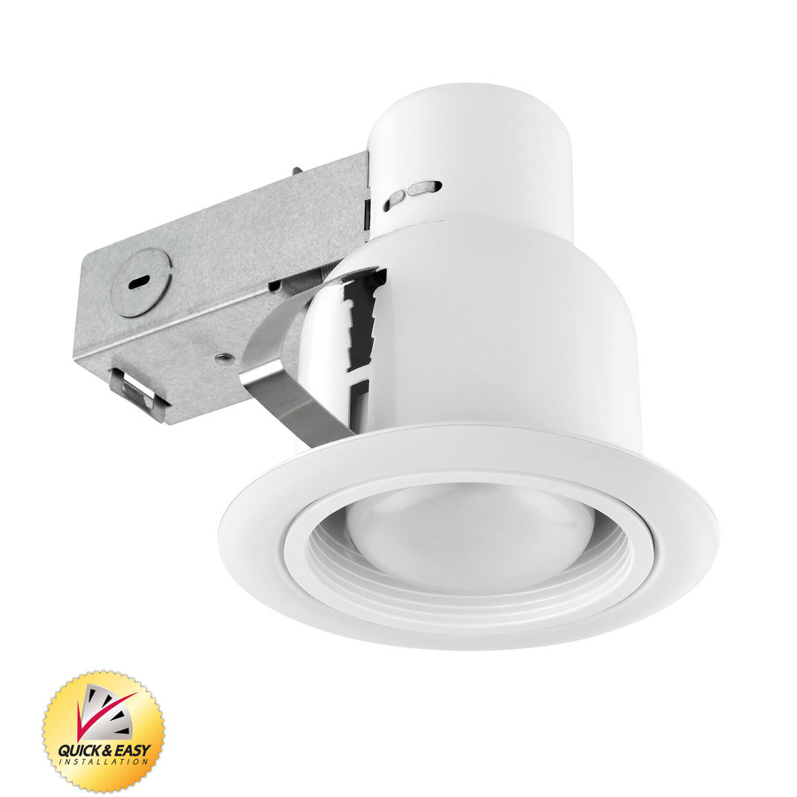 Recessed Lighting Utilitech : Utilitech white with baffle remodel recessed