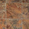 IVC 12-ft W Brown/Tan Stone Low-Gloss Finish Sheet Vinyl