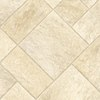 IVC 12-ft W Venturi 503 Tile Low-Gloss Finish Sheet Vinyl