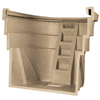 Wellcraft 45-in L x 78-in W x 60-in H Sandstone Single Unit Egress Window Well
