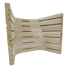 Wellcraft 3-Piece Sandstone Modular Egress Window Well Kit