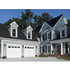 ReliaBilt Traditional Series 108-in x 84-in Insulated White Single Garage Door with Windows