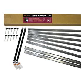 Shop reliabilt 8 ft x 7 ft garage door wind load kit at for 16 foot garage door strut